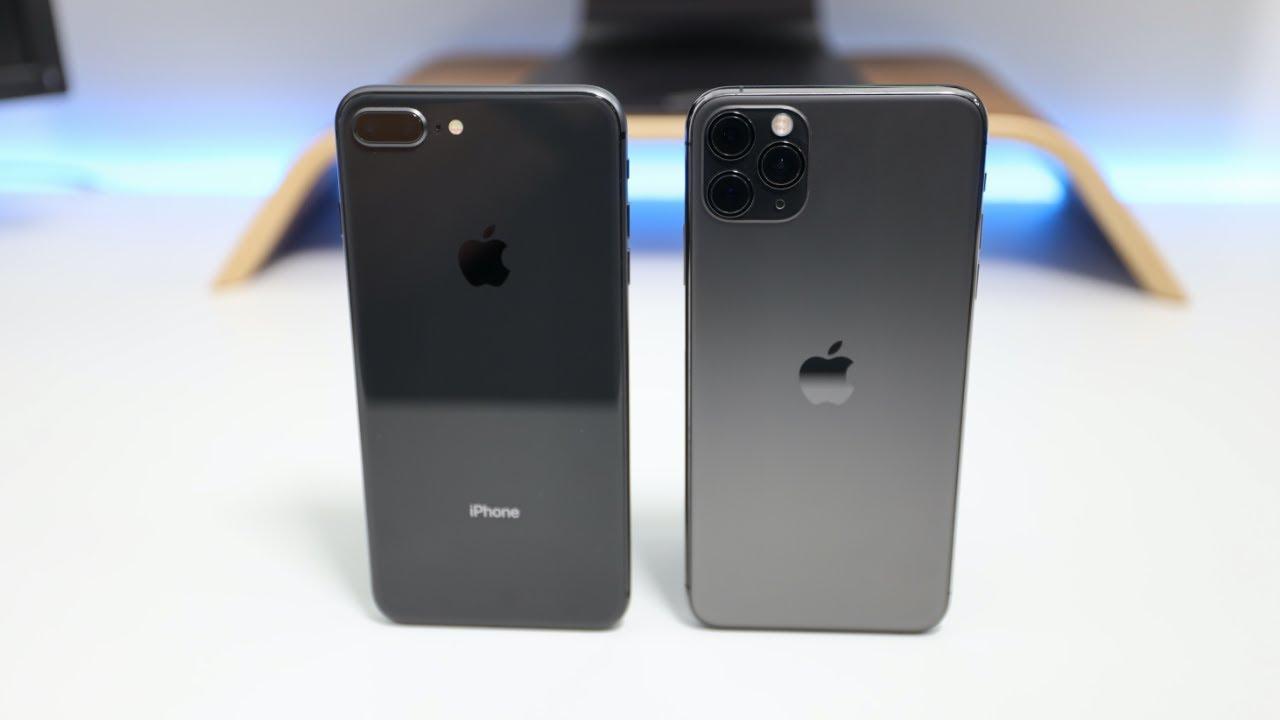 Iphone 11 Pro Vs Iphone 8 Plus Size