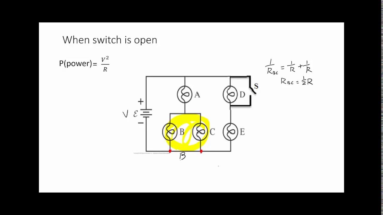 Light Bulb Circuit Youtube