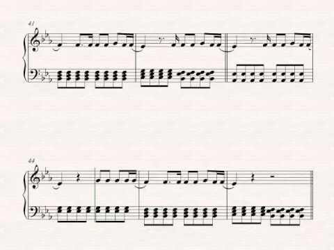 Piano Final Masquerade Linkin Park Sheet Music Chords Vocals