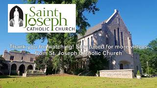 Divine Mercy Sunday - 10:30 AM Sunday Mass at St. Joseph's (4.11.21)