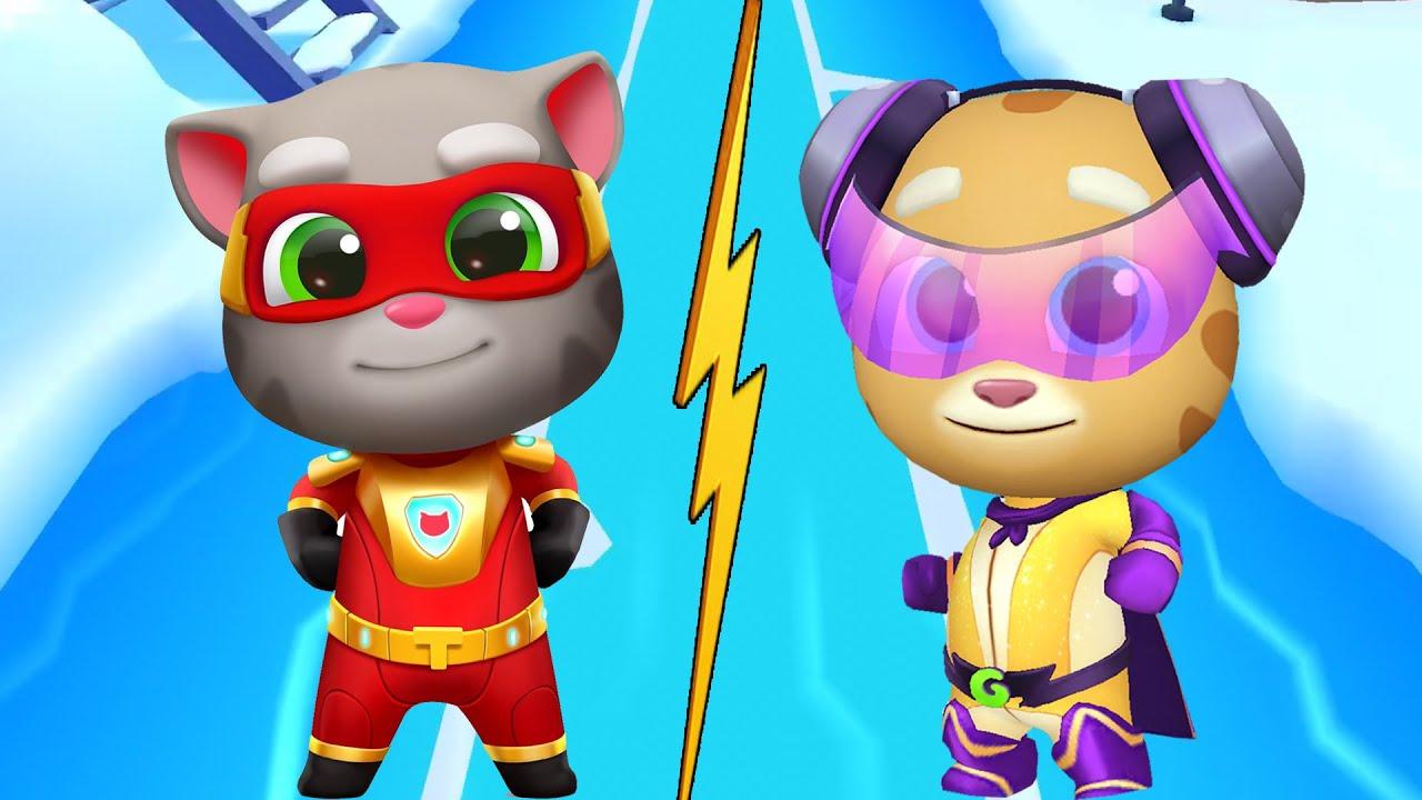 Mèo Siêu Nhân Chạy Thi Tập 10 , Mèo Tom Chạy Thi Với Mèo Ginger