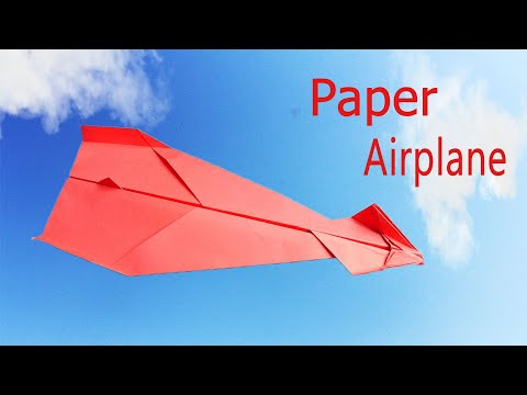 Best Paper Airplane In The World - How To Make A Paper Airplane Easy  - Diy Cool hacks