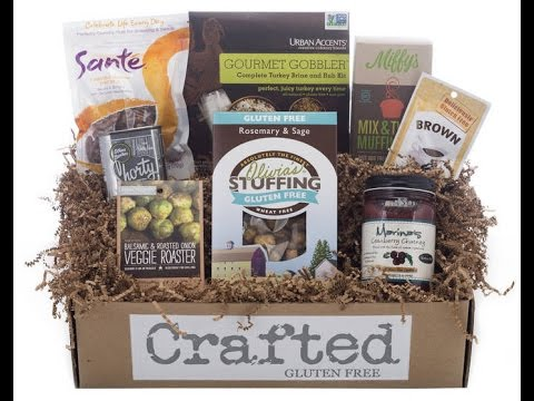 Gluten free holiday dinner in a box with crafted gluten free youtube gluten free holiday dinner in a box with crafted gluten free negle Gallery