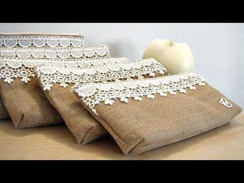 Easy DIY Crafts You Can Do With Burlap | NEW BURLAP DECOR COLLECTION
