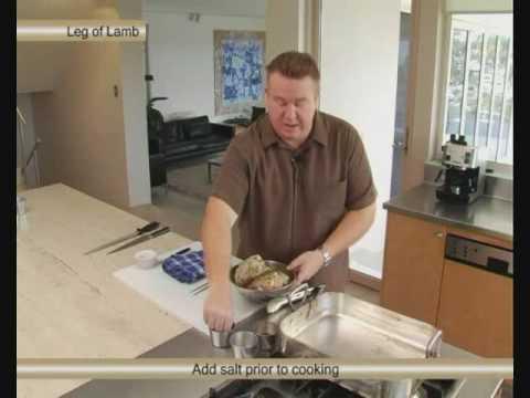 Cooking A Butterflied Leg Of Lamb