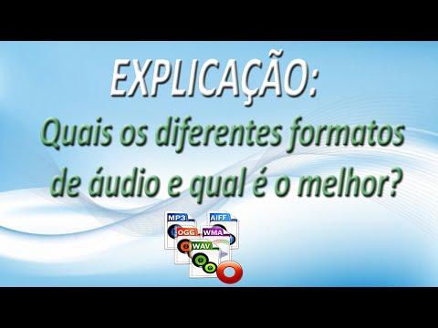 EXPLICAÇÃO - Quais Os Diferentes Formatos De áudio E Qual é O Melhor? (FullHD)