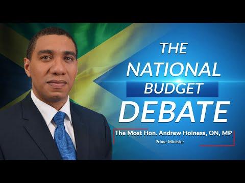 Jamaica's National Budget Debate 2021/2022 – Prime Minister - Andrew Holness