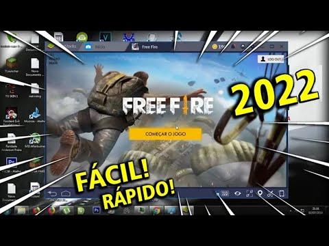 COMO BAIXAR E INSTALAR FREE FIRE NO SEU PC EM 2019! (MELHOR MÉTODO RÁPIDO E FÁCIL)