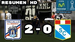 Carlos Manuccci vs Sportin Cristal (2-0) Resumen HD Copa Movistar Liga 1
