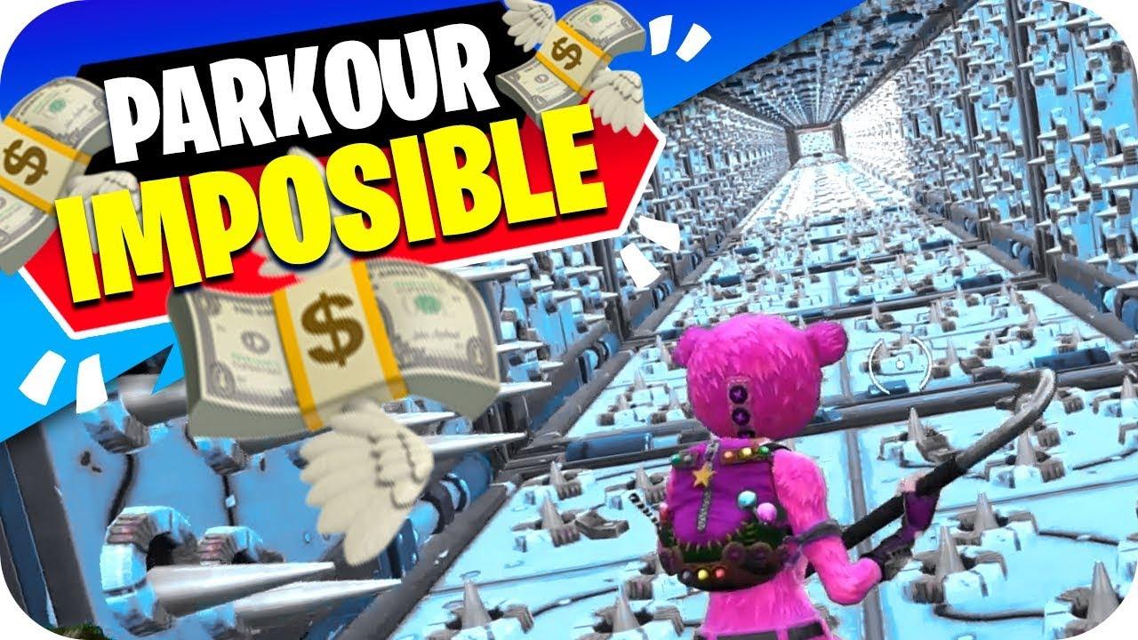 1.000$ si COMPLETAS este PARKOUR IMPOSIBLE de FORTNITE (Modo Creativo) #1
