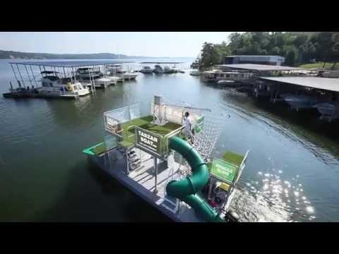 Jungle Float - mobile floating water park....PURCHASE DETAILS