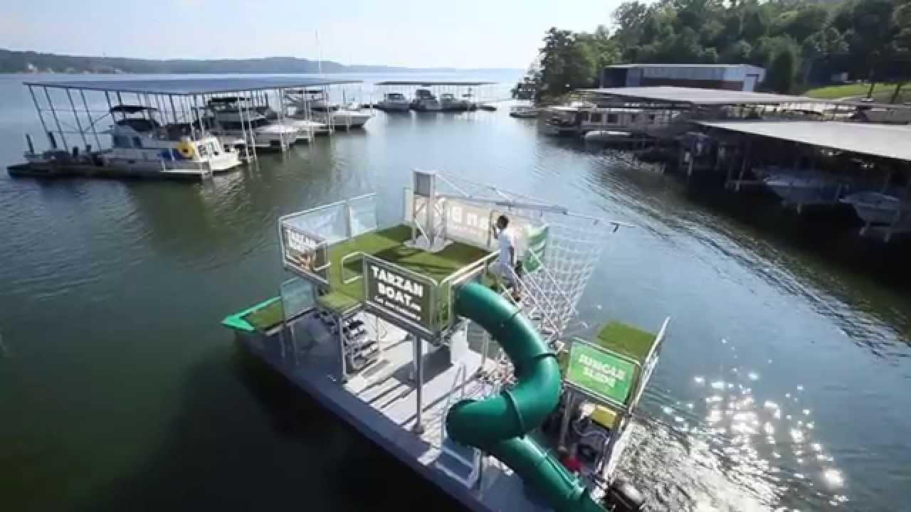 Jungle Float - mobile floating water park    PURCHASE DETAILS