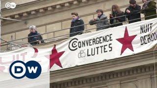 «الواقفون ليلًا» يطمحون إلى تغيير العالم من باريس - ساسة بوست