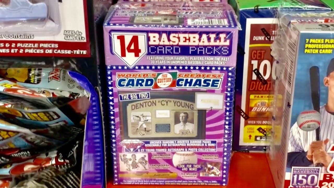 Opening Up A Target Re Pack Box Tristar Worlds Greatest Card Chase