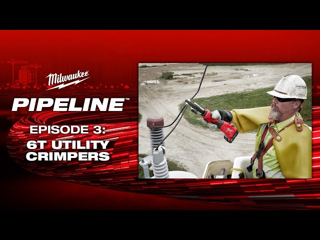 Milwaukee® Pipeline™: 6T Utility Crimpers