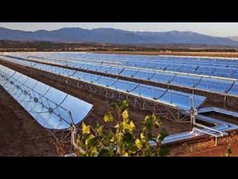 Vast desert sun farm to help light up Morocco