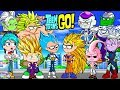 Teen Titans Go! Color Swap Raven Dragonball Z Goku Surprise Egg and Toy Collector SETC