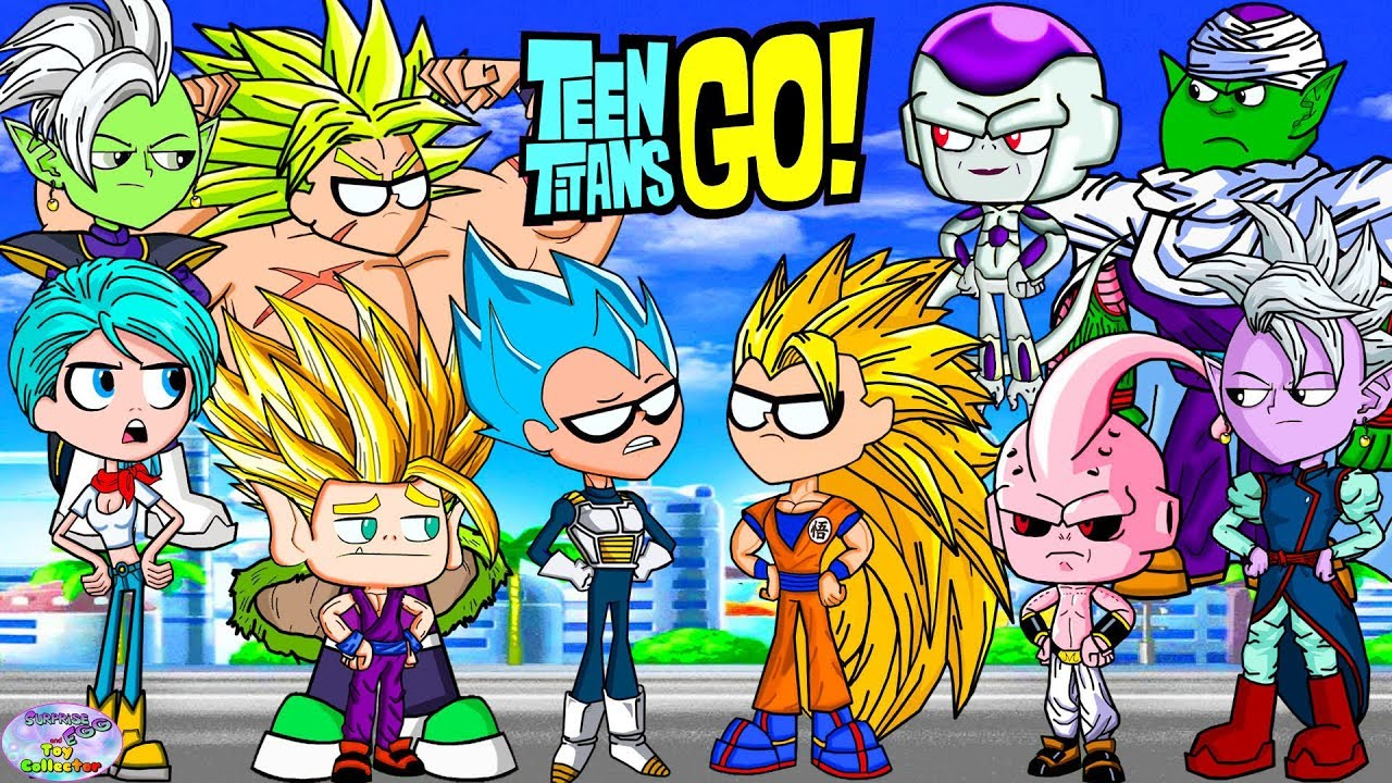 Download Teen Titans Go! Color Swap Raven Dragonball Z Goku Surprise Egg and Toy Collector SETC