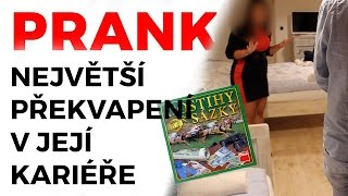 PRANK - Největší překvapení v její kariéře / Biggest surprise in her career