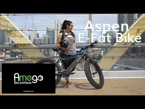 NCM Aspen Electric Fat Bike - Power On or Off Road