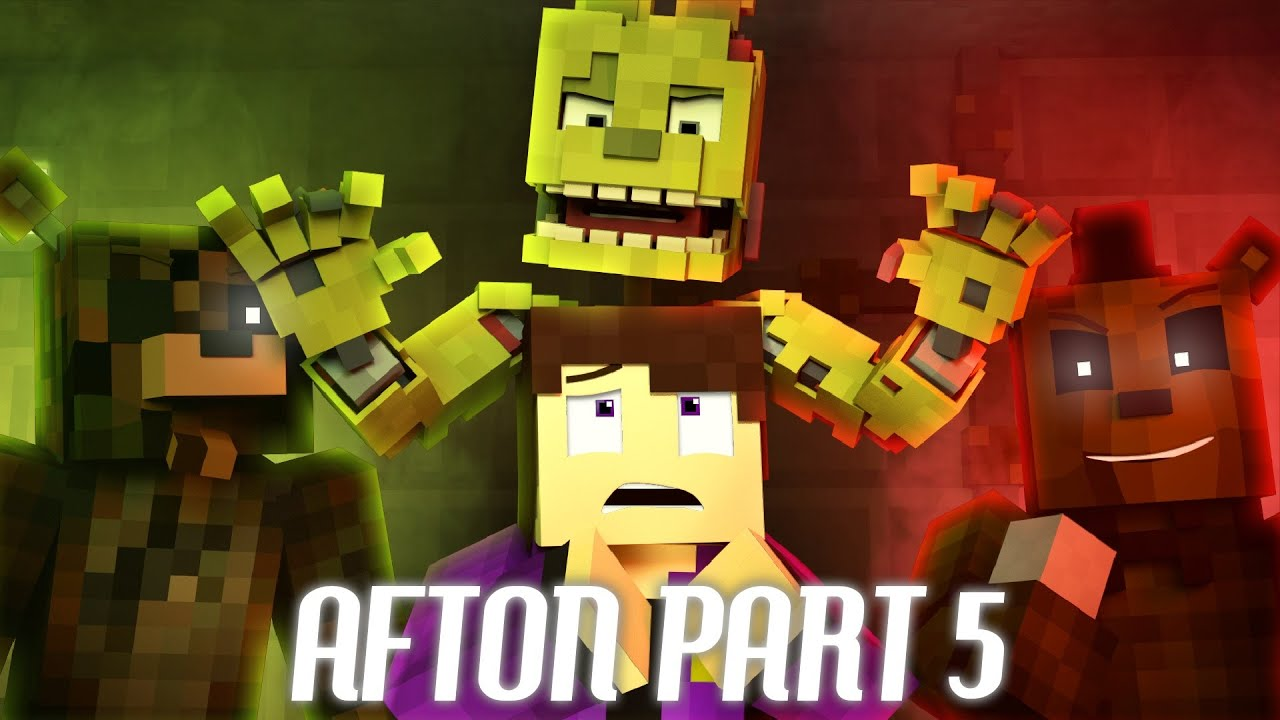 """REPLAY YOUR NIGHTMARE"" FNAF Minecraft Music Video 