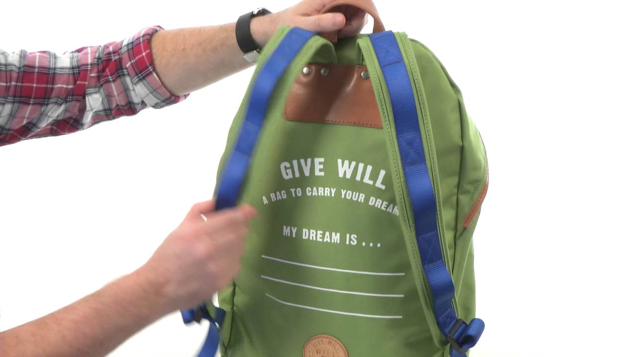 Will Leather Goods Give Will Large Backpack SKU 8387802 - YouTube 62d71a7f92e7