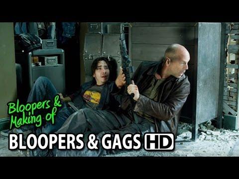 Live Free or Die Hard (2007) Bloopers Outtakes Gag Reel (Part1/2)