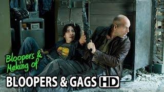 Live Free Or Die Hard 2007 Bloopers Outtakes Gag Reel Part1 2