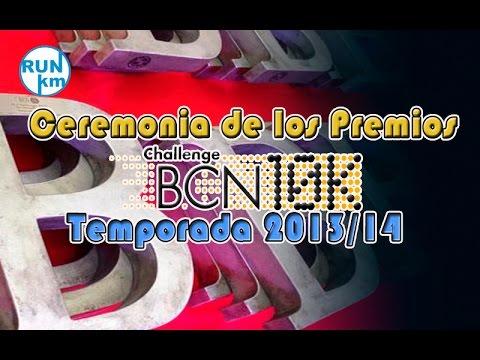 Ceremonia de los premios CHALLENGE 10K BCN 2013/14
