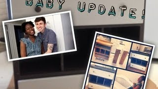Baby Update & Nursery Changing Station Facelift (belinca + David)