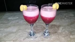 Apricot and beetroot soda drink Easy cooking with as