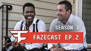 CHRIS ROCK & ADAM SANDLER TAKEOVER FAZE CLAN - #FaZeCast S3E2