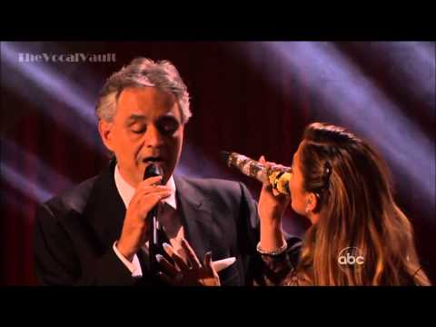 [HD] Andrea Bocelli and Jennifer Lopez - Quizas, Quizas, Quizas-DWTS-16-Results