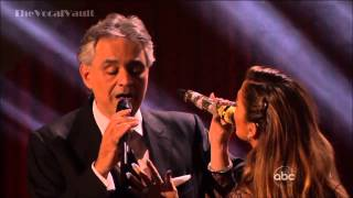 HD Andrea Bocelli and Jennifer Lopez Quizas Quizas Quizas DWTS 16 Results