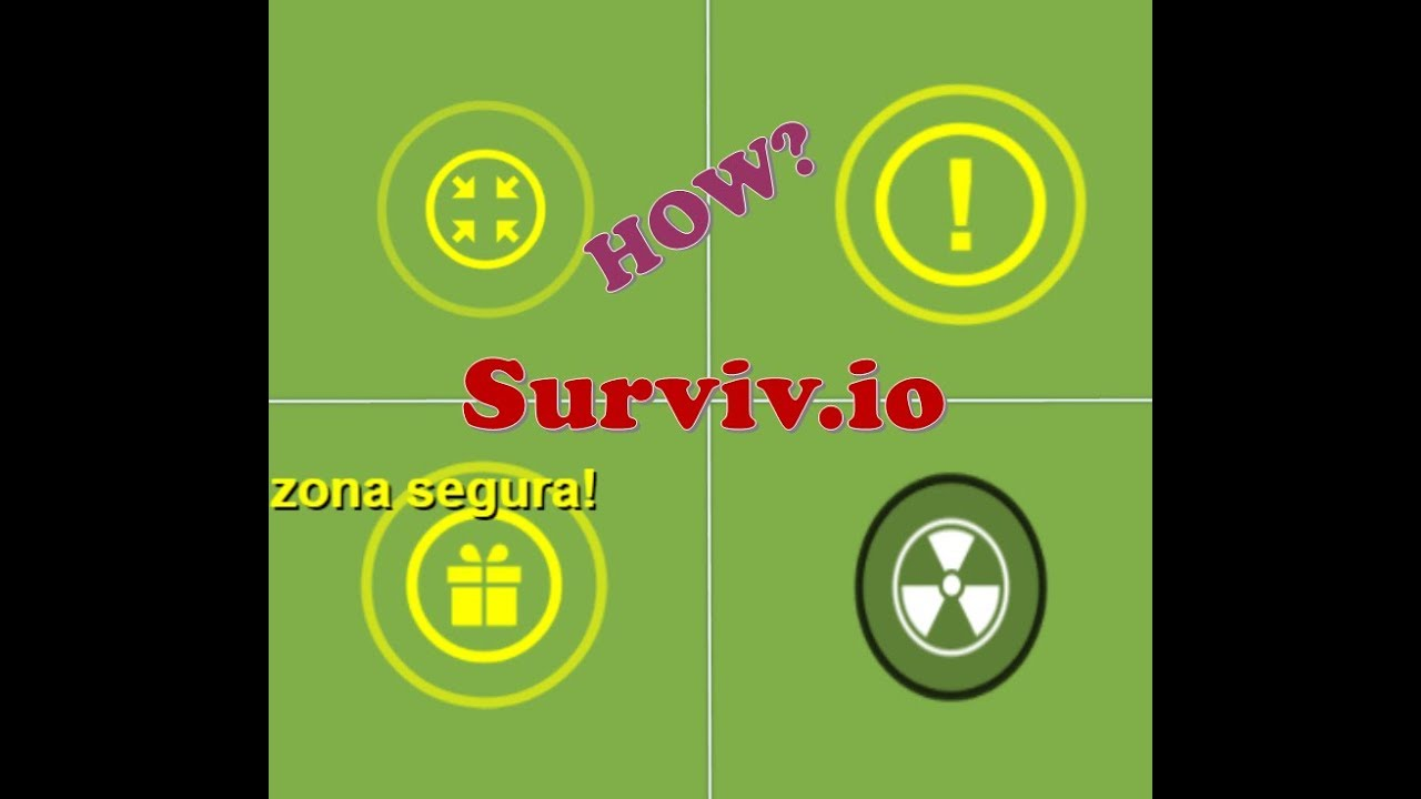 Como Hacer Simbolos Surviv Io Youtube