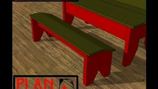 Chief's Shop Plan Of The Week: Porch Bench Footrest
