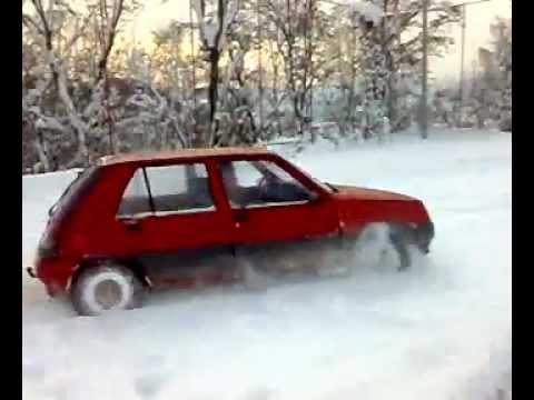 Фото к видео: renault 5 1.6 diesel SNOW