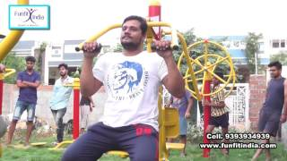 Outdoor and indoor gym equipments by funfit india