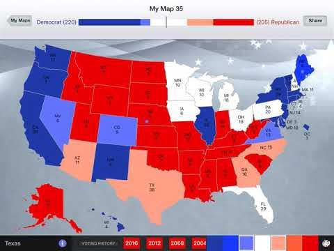 Repeat Best Case Scenario for the Democratic Party in 2020