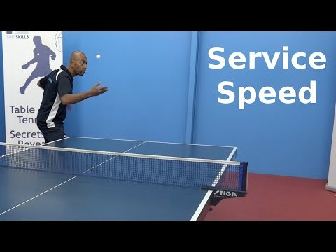 Variation of Speed | Serving | Table Tennis