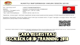 Download Video Cara Daftar SSCN.BKN.GO.ID TRAINNING 2018 ( SIMULASI REGISTRASI CPNS 2018) MP3 3GP MP4