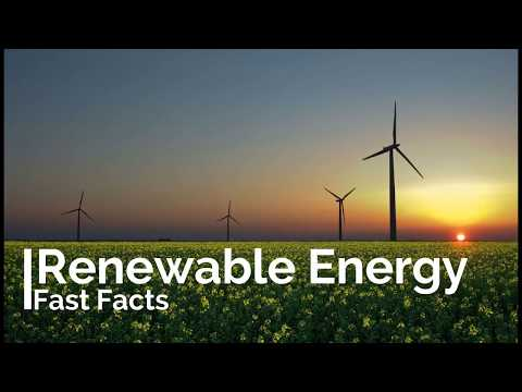 Renewable Energy Amazing Facts