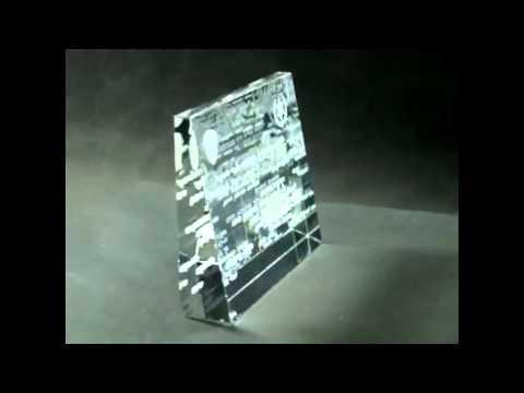 TRI h Laser 3D in glass Award Police