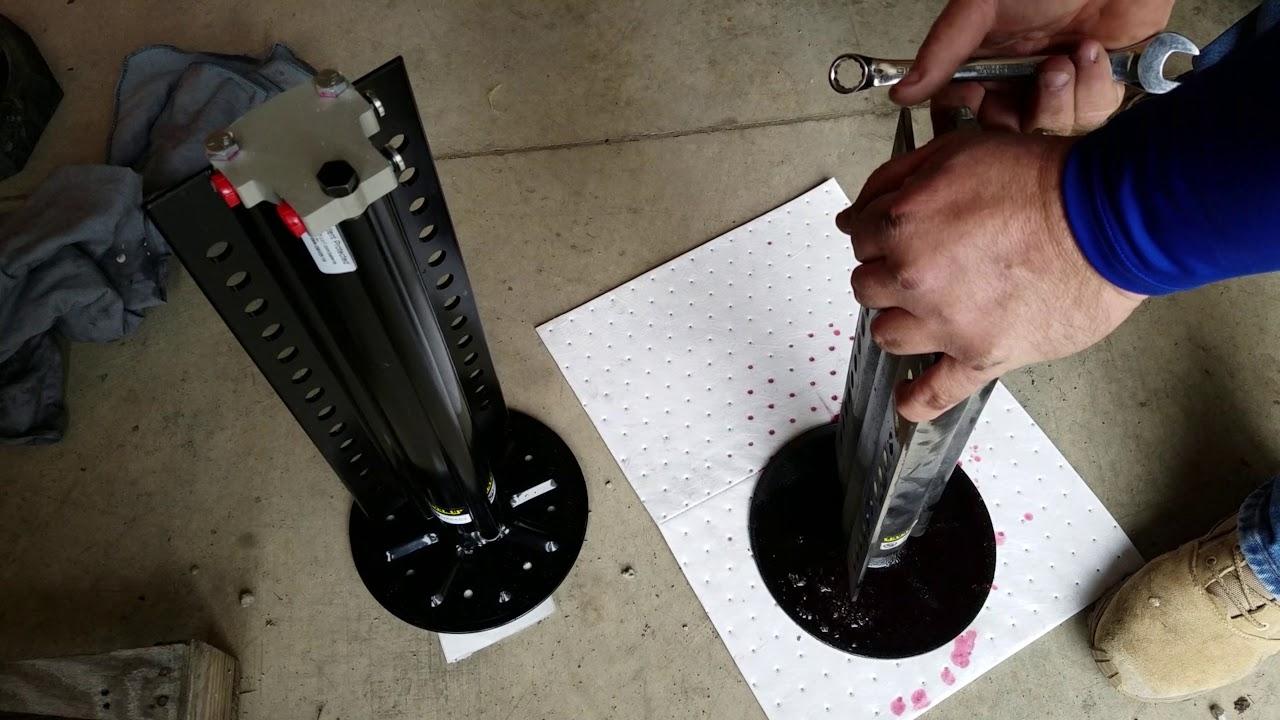 Changing Lippert  Lci  Hydraulic Leveling Jack