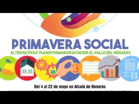 Primavera Social Mayo 2016 en Alcalá de Henares