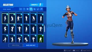 Fortnite *NEW* *LEAKED* Sizzle Sgt. showcased with 97 Emotes