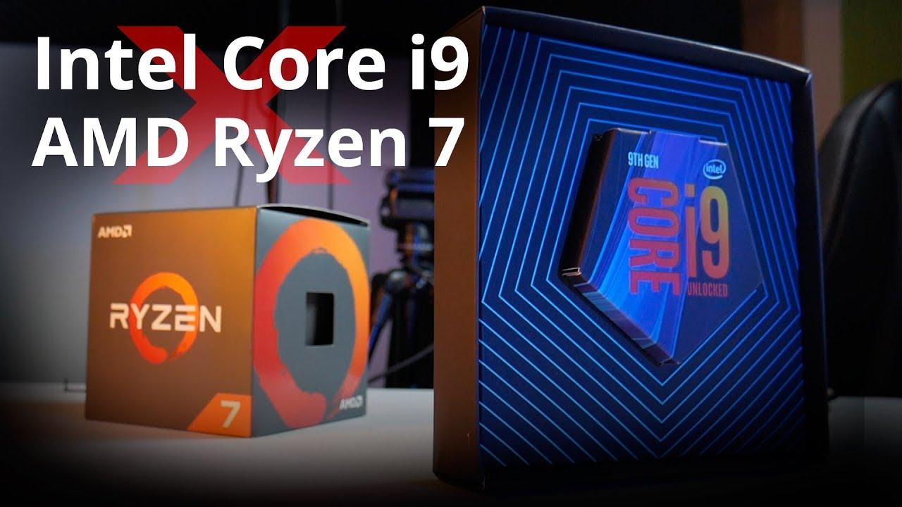 Intel i9 9900K VS Ryzen 2700x: quem ganha?