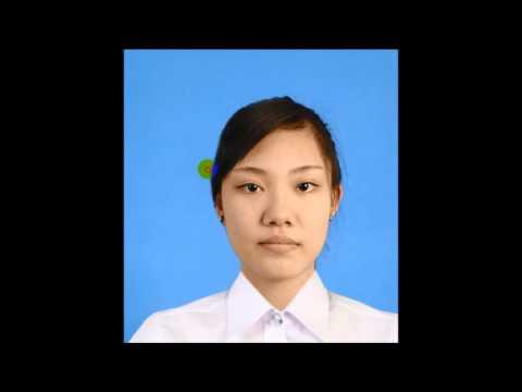 ถ่ายรูปติดบัตร ชุดนักศึกษาหญิง มจธ.