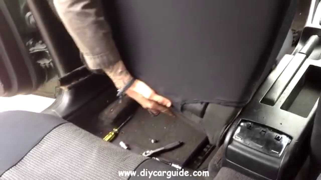 Audi A4 FrontSeat Removal - YouTube