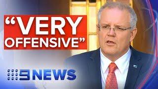 PM denounces Turkish president's Gallipoli warning   Nine News Australia